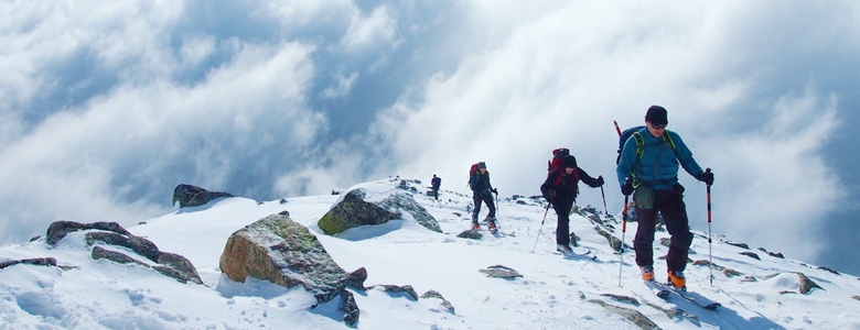 lavinovo skialpinisticky kurz pokrocily